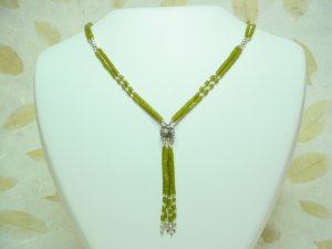 Jade + 925 Silver Necklace