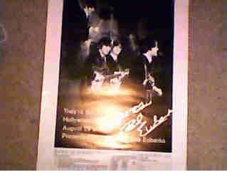1965 Beatles Hollywood Bowl Concert Poster
