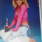 Britney Spears Signed Pepsi Photo