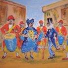"Milton Cairoli oil painting ""Candombe"""