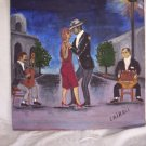 "Milton Cairoli oil painting ""Tango"""