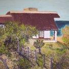 "Milton Cairoli oil painting ""Casa de Playa Las Flores"""