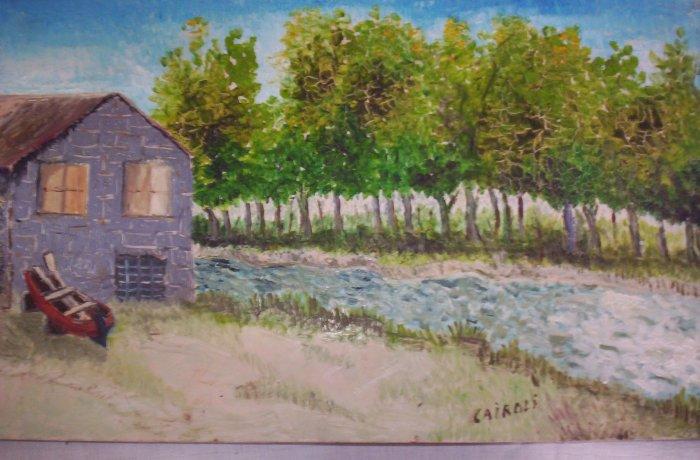 """Milton Cairoli oil painting """"Torrente"""""""