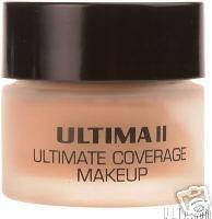 Ultima II Ultimate Coverage Cream Makeup Manilla Foundation