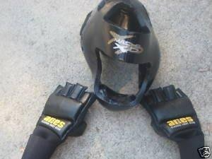 Fight Gear Aries Rappling Macho XP Headgear Set Discounted Fight Gear MEDIUM