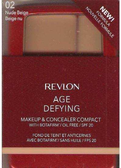 Revlon Age Defying Makeup and Concealer 02 Nude Beige Original Formula