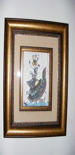 Fairy Art Framed Original Art Original Fairy Art Fairies