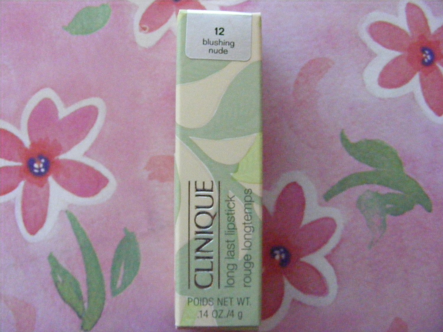 Clinique Blushing Nude Long Last Lipstick New in Box!