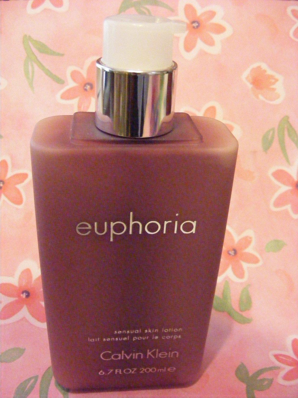 Calvin Klein Euphoria Sensual Skin Lotion 6.7 Oz.