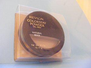 Revlon Colorstay Powder Natural Beige Oil-Free NO BOTAFIRM