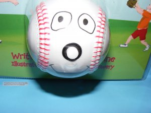 Baseball Book & Talking Baseball - The Talking Baseball and Book ages 2-7 Educational Pretend
