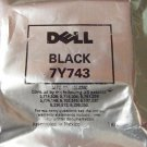 Dell Printer Cartridge 7Y743 Black Genuine Dell!