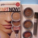 PurMinerals Foundation Makeup Set DEEPEST 4-Piece PürMinerals Start Now Starter Set