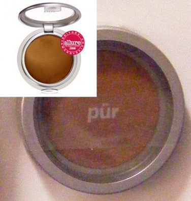 PurMinerals Foundation DEEPEST 4-in-1 Pressed Mineral Makeup SPF 15