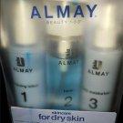Almay 3-Piece Skincare Set Almay Cleanser + Toner + Moisturizer DRY Skin