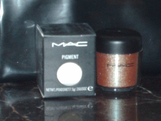 Mac Cosmetics Blue Brown Pigment 1/4 tsp Sample Jar