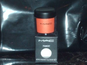 MAC Cosmetics Acid Orange Pigment 1/4 tsp Sample Jar