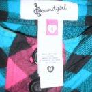 Soundgirl flannel dress-Size Medium