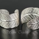 Sterling Silver Leaf Ear Cuffs CSS91