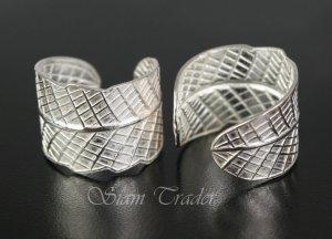 Sterling Silver Leaf Ear Cuffs CSS91