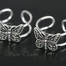 Sterling Silver Butterfly Ear Cuffs CSS291