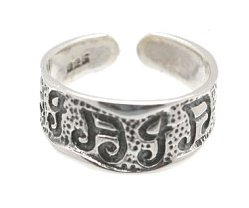 Sterling Silver - Musical Notes - Toe Ring TRSS156