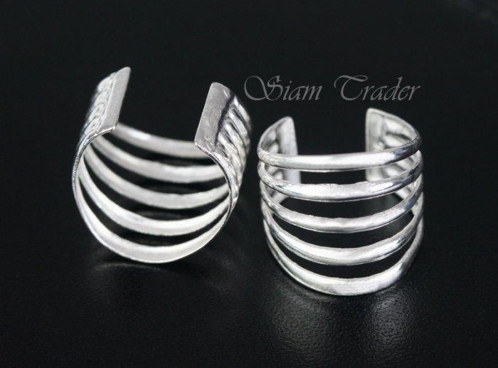 Sterling Silver - 5 Loop - Ear Cuffs AESS1276