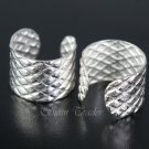 Sterling Silver - Scaled - Ear Cuffs AESS1274