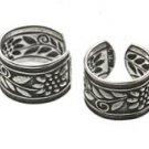 Sterling Silver Sunflower Ear Cuffs CSS111