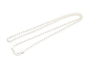 "Sterling Silver 16"" Necklace KNSS1"