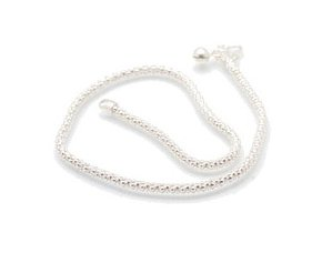 """Sterling Silver 9"""" Anklet AKSS5"""