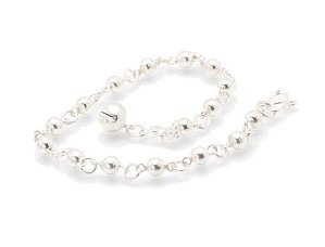 """Sterling Silver 8"""" Anklet AKSS16"""