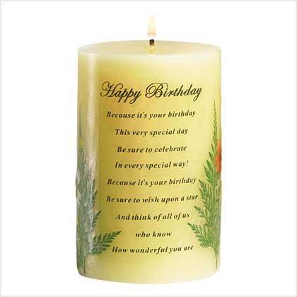 #38887 Happy Birthday Candle