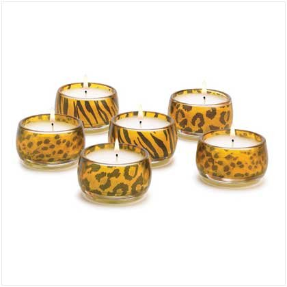 #38548 Safari Lites Candles