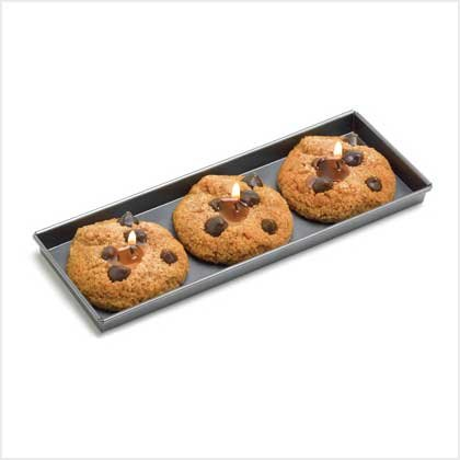 #38533 Fresh-Baked Cookie Candle Set
