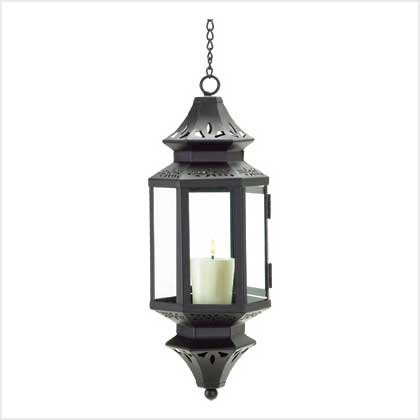 #38469 Hanging Moroccan Lantern