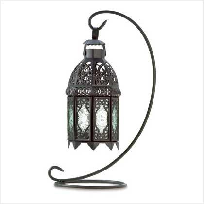 #38566 Moroccan Tabletop Lantern