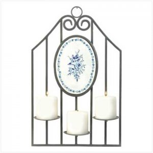#37900 Sophia Pattern Candleholder