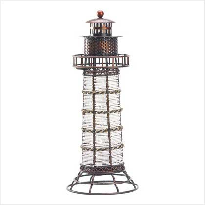 #39067 Beaded Lighthouse Lantern