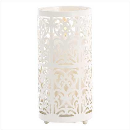 #39064 Floral Candle Holder