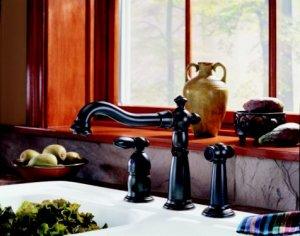 Victorian Single Handle Kitchen Faucet