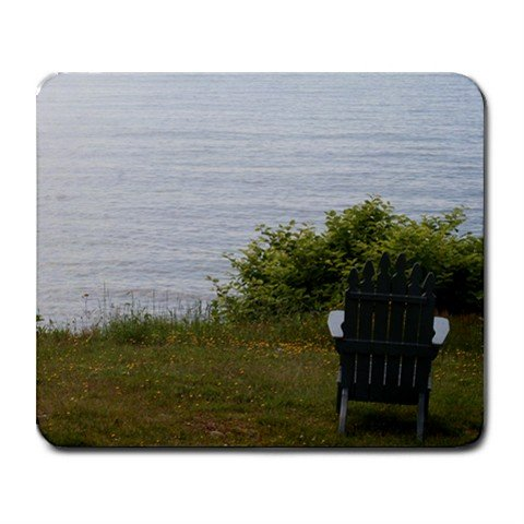 Mousepad N.B. chair and ocean FREE SHIPPING