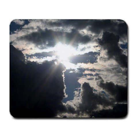 Mousepad Sun through the Clouds   FREE SHIPPING
