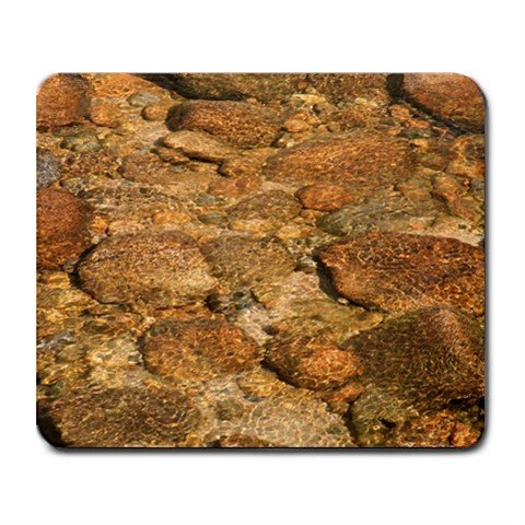 Mousepad River Rocks Clear Water FREE SHIPPING