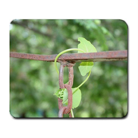 Mousepad FREE SHIPPING Vine growing on a chain