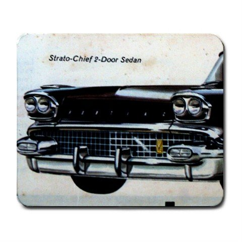 Mousepad FREE SHIPPING black Strato-Chief classic car