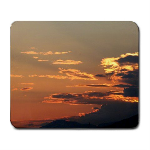 Mousepad FREE SHIPPING very neat clouds at sunset