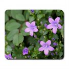 Mousepad FREE SHIPPING small purple flowers star shaped