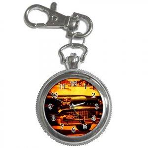 Pocket Watch Black Pontiac Classic Car