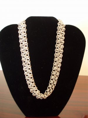 Double Lacey-Chain Necklace